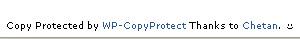 Wp-CopyProtected