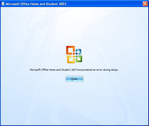 how to run setup for microsoft office 2007